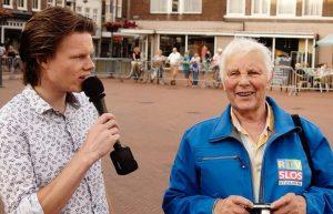 Joey, speaker tijdens Avondvierdaagse Steenwijk